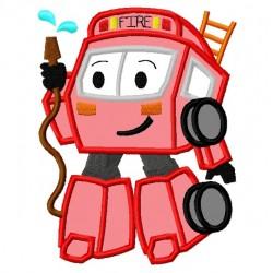 Fire Truck Robot