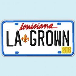 Louisiana License Plate