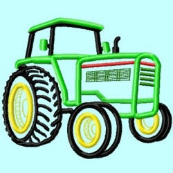 Tractor Green