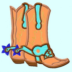 Cowboy Two Boots