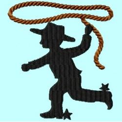 Cowboy Kid with Lasso