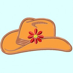 Cowgirl Hat APPLIQUE