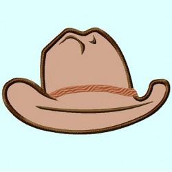 Cowboy Hat Front View