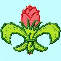 Fleur De Lis Rose Flower