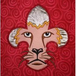 Fleur De Lis Lion